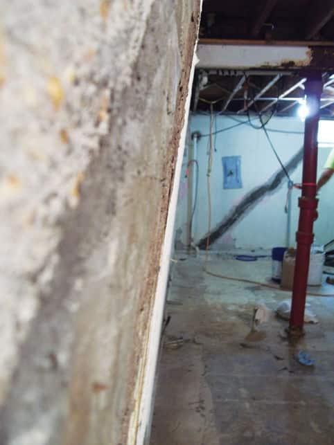 Bowing Basement Wall Repair Company Fix Buckling Walls