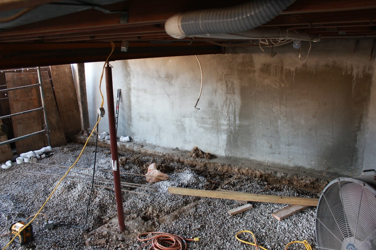 Waterproofing Existing Foundation Walls : Waterproofing a new foundation helitech