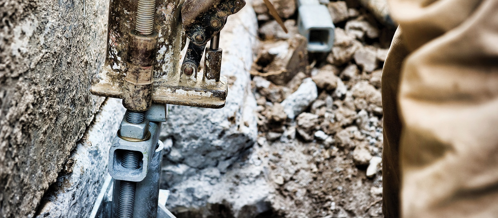 Chance Helical Pier Foundation Repair System - Helitech
